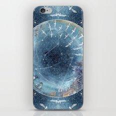 Capricorn & Aquarius friendship iPhone & iPod Skin