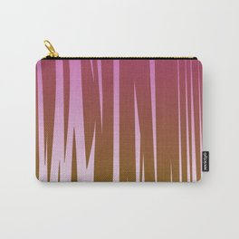 WILD LINES : Pink with gold elements Carry-All Pouch