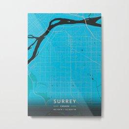 Surrey Canada Metal Print