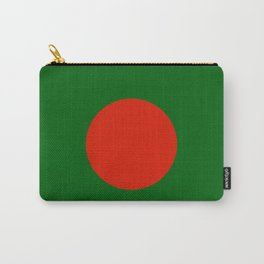 Bangladeshi Flag in green and red colors Carry-All Pouch