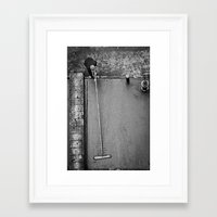 concrete Framed Art Prints featuring Concrete by Bill Wadman
