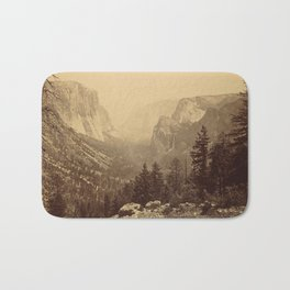 Yosemite Valley from Inspiration Point Bath Mat