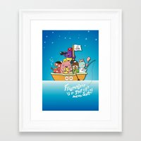 friendship Framed Art Prints featuring Friendship by Gunawan Lo