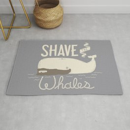 Shave the Whales Rug