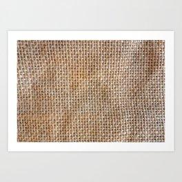 Cotton Canvas Pattern Art Print