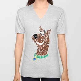 scooby Unisex V-Neck