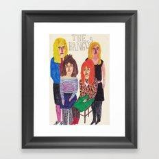 The Bangles Framed Art Print