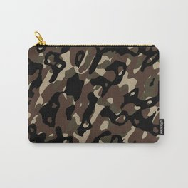 Camouflage Abstract Carry-All Pouch