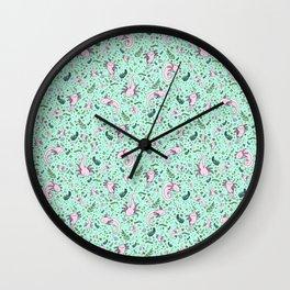 Cute Axolotls Wall Clock