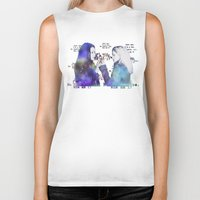 orphan black Biker Tanks featuring Orphan Black, Who Am I? by Your Friend Elle