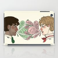 grantaire iPad Cases featuring Name on my tongue by Antisepticbandaid