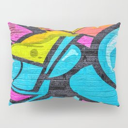 Shapes and green slime Pillow Sham
