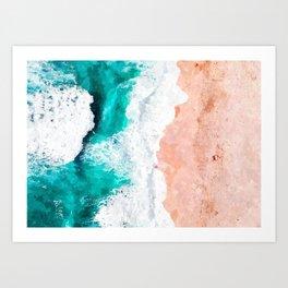 Beach Illustration Art Print