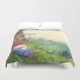 The Sleeping Gnome Duvet Cover