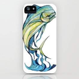 The Glass Mahi Mahi  iPhone Case