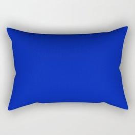 Blue Beauty ~ Vibrant Blue Rectangular Pillow
