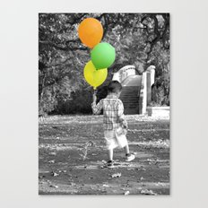 3 Balloons for 3 Years Canvas Print