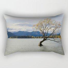 That One Wanaka Tree Rectangular Pillow