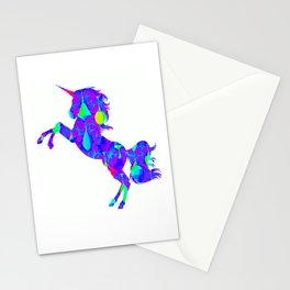Latern unicorn cool 1 Stationery Cards