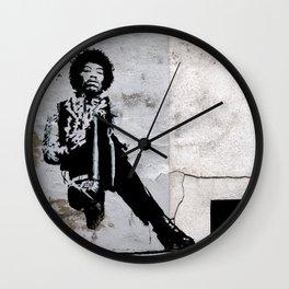 JIMI - urban ART Wall Clock