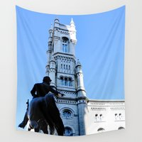 philadelphia Wall Tapestries featuring Onward (Philadelphia) by Julie Maxwell