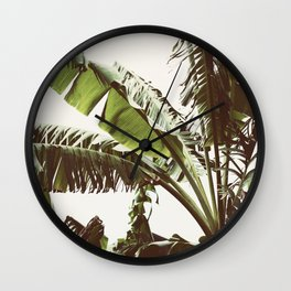 Tropical Winds Wall Clock