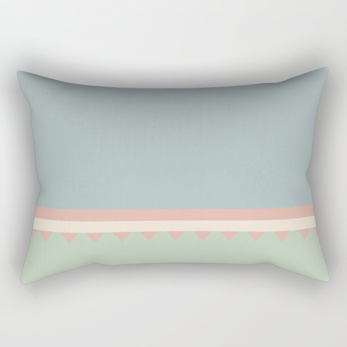 Jagged 8 Rectangular Pillow