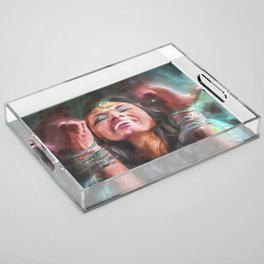 Dancer in Motion Acrylic Tray