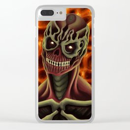 Arch-vile from DOOM Clear iPhone Case