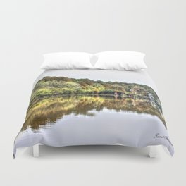 The Coming Of Winter Duvet Cover