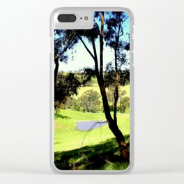 Life in the Alpine Ranges - Australia Clear iPhone Case