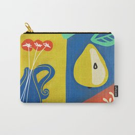 Botanical slice of color 02 Carry-All Pouch