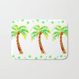 Tropical Palms Bath Mat