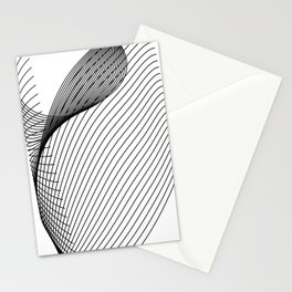 """Script Collection"" - Minimal Letter C Print Stationery Cards"