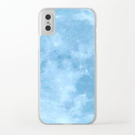 Moon Clear iPhone Case