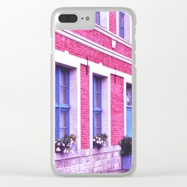 Pop Architecture Clear iPhone Case