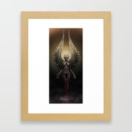 And You Shall See the Shades which She Becomes.  Framed Art Print