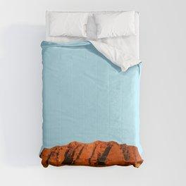 uluru polygon Comforters