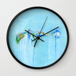 Blue Riffle Wall Clock