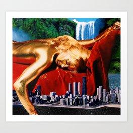 Dream Metropolis Art Print