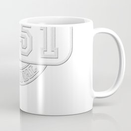Birthday Established 1951 Original T-shirt - Embroidery look Coffee Mug