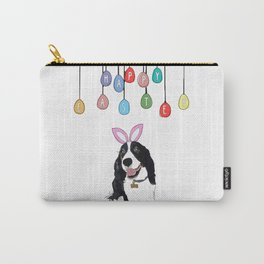 Happy Easter - Springer Spaniel Carry-All Pouch