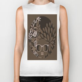 Afro Diva : Brown Sophisticated Lady Biker Tank