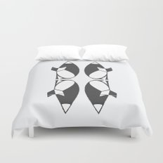 foxy reflected Duvet Cover