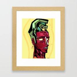 K'inich Janaab' Pakal... o Mayan Vision Framed Art Print