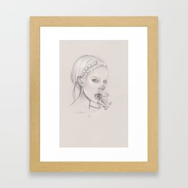 Silvette Framed Art Print