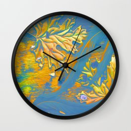 Floating- Detail #2 Wall Clock