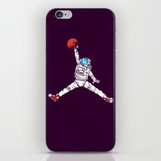 space dunk (purple ver.) iPhone & iPod Skin