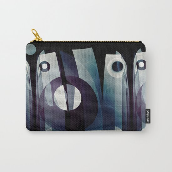 Modern abstract with geometric shapes Carry-All Pouch