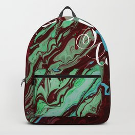 Sweet love Valentines day abstract gift Backpack
